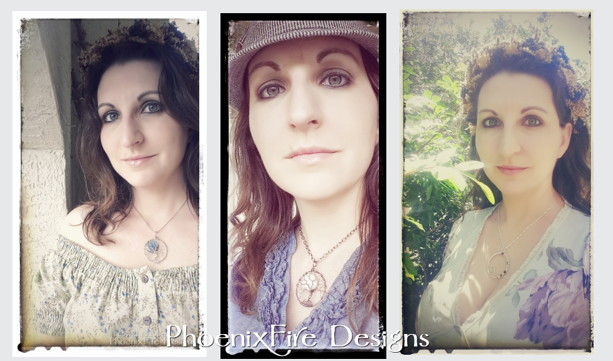 PhoenixFire Designs tree of life pendants and handmade wire wrapped jewelry compliment any occasion or personal style.  Dress up or dress down; bohemian, urban city or tree hugger - you will always find a reason to wear our beautiful jewelry art!