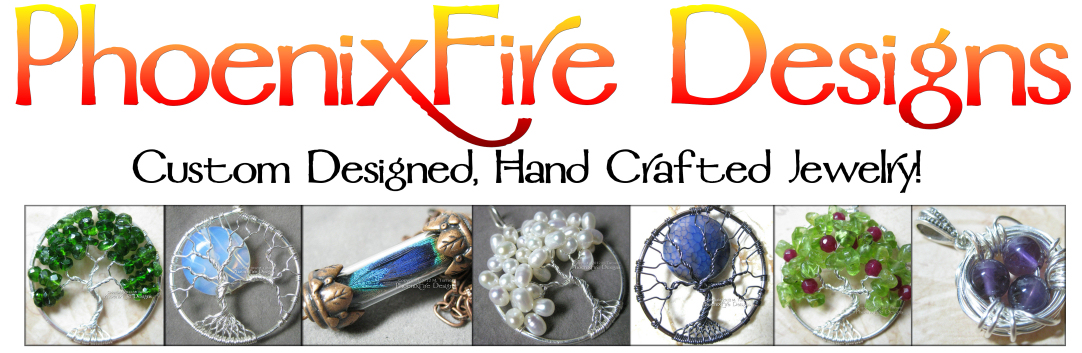 Tree of Life Pendants and Jewelry by M. Turner PhoenixFire Designs