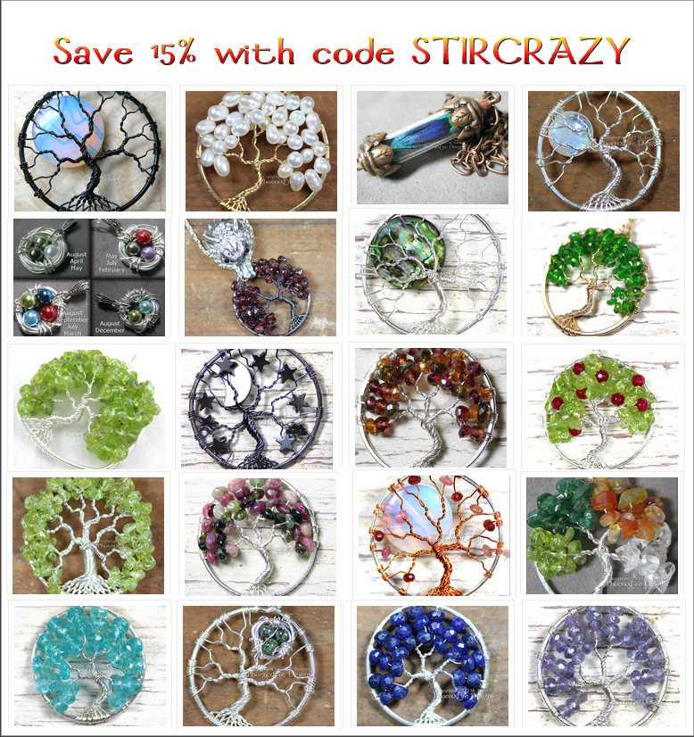August 11th - 21st 2013 use code STIRCRAZY for 15% off your PhoenixFireDesigns order!