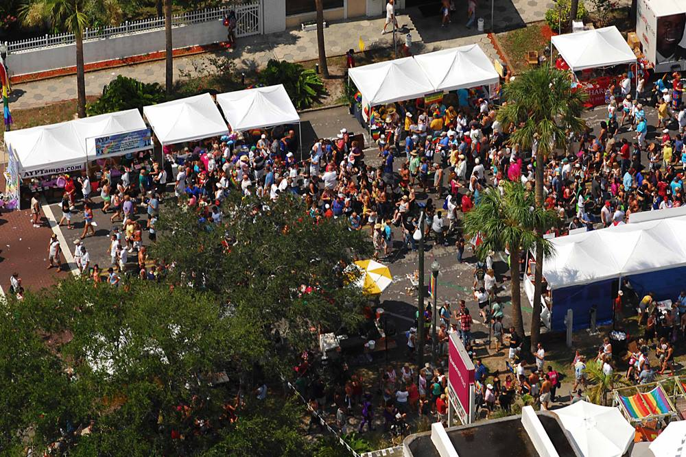 St. Pete Pride Art Fest street fair festival Sunday June 28, 2015 11am-6pm