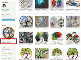 PhoenixFire Designs Etsy Shop opened October 2006 making us the ORIGINAL Tree of Life Pendant seller on etsy! Handcrafted handmade wire wrapped tree of life pendants, wire tree etsy, wire wrap tree, tree of life necklace, full moon tree of life and more