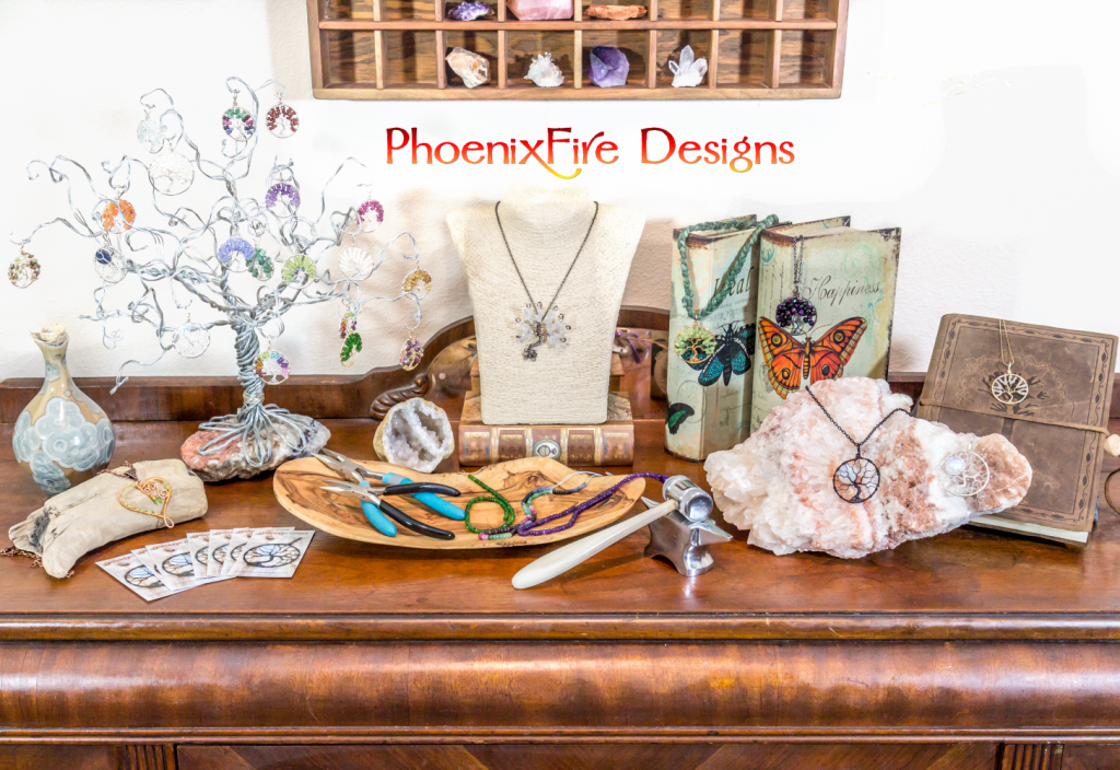 PhoenixFire Designs Handmade at Amazon storefront. Handcrafted wire wrapped tree of life pendants, handmade wire wrap jewelry, tree of life necklaces and more!