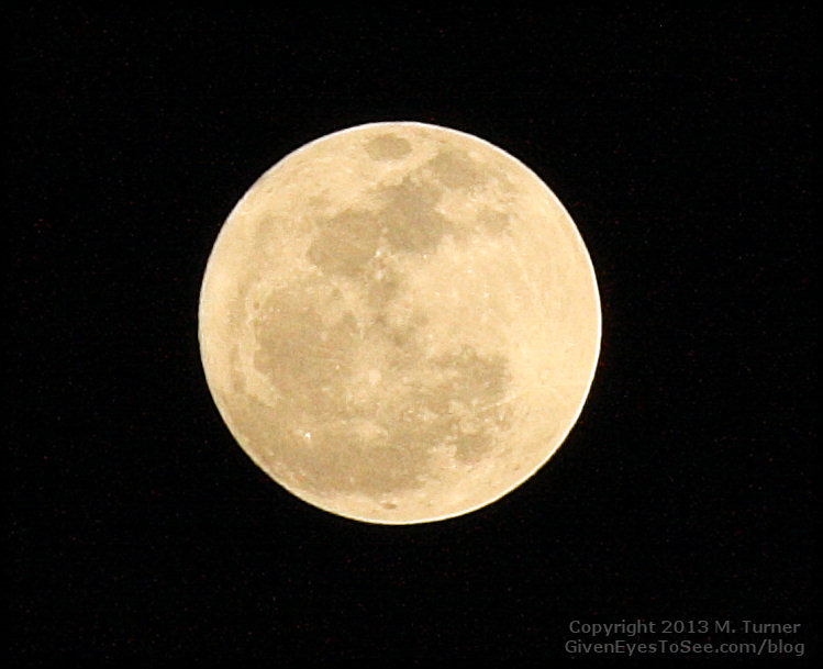 Photo of the full moon by M. Turner, Full moon pics, full moon photography