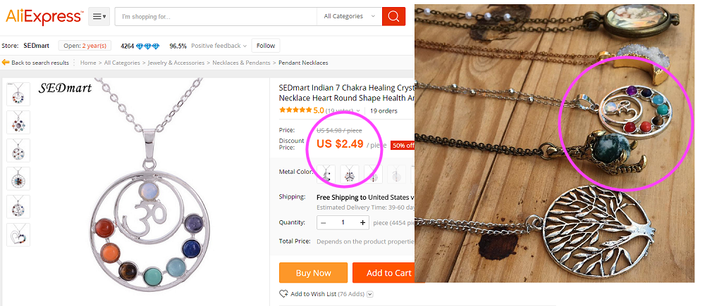 """Just because a seller claims to be """"handmade"""" doesn't mean they really make it by hand. This article takes a look at common reseller tactics and how to avoid falling for overpriced junk made in China."""