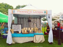 PhoenixFire Designs vendor booth