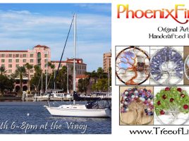 PhoenixFire Designs will be on display at the Vinoy Renaissance Resort in St. Petersburg, Friday July 24th from 6-8pm.